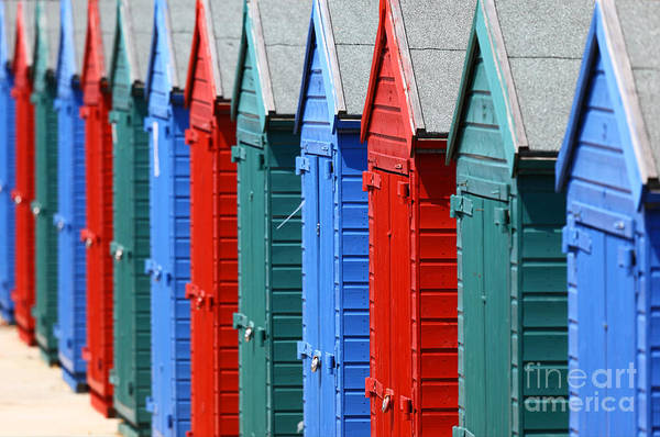 Photograph - Beach Huts 2 by James Brunker