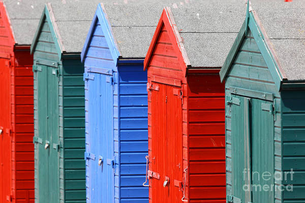 Photograph - Beach Huts 3 by James Brunker