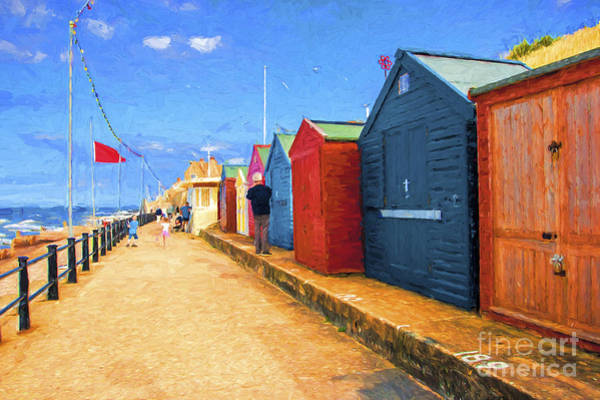Wall Art - Photograph - Beach Huts At Cromer by Sheila Smart Fine Art Photography