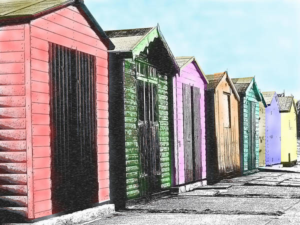 Photograph - Beach Huts by Richard Reeve