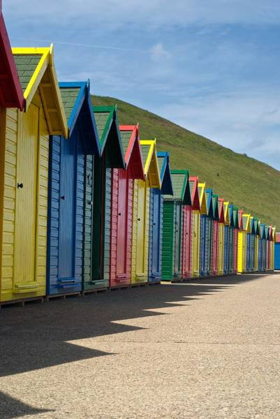 Photograph - Beach Huts by Stephen Taylor