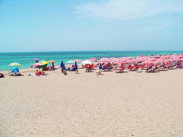 Beach Holiday Photograph - Beach In Salento by Stefano Salvetti