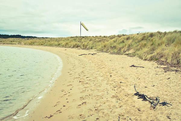 Drift Photograph - Beach In Scotland by Tom Gowanlock