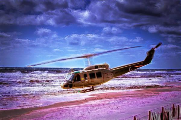 Photograph - Beach Landing by Barry Jones