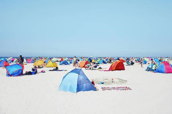 Beach Holiday Photograph - Beach Life Sankt Peter Ording by Rudi Sebastian