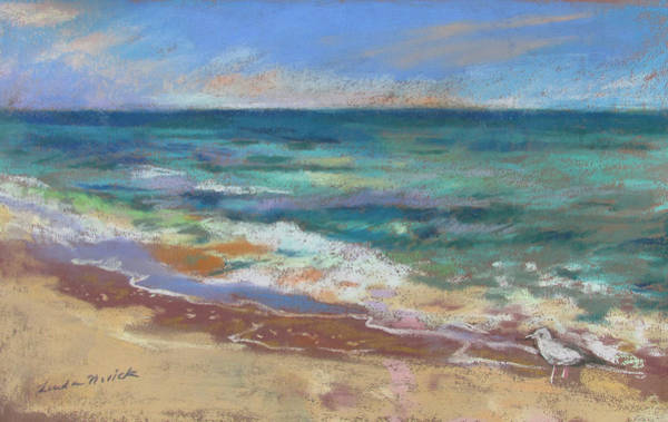 Painting - Beach Meditation by Linda Novick