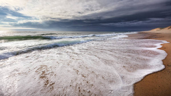 Photograph - Beach Morning by Bill Wakeley