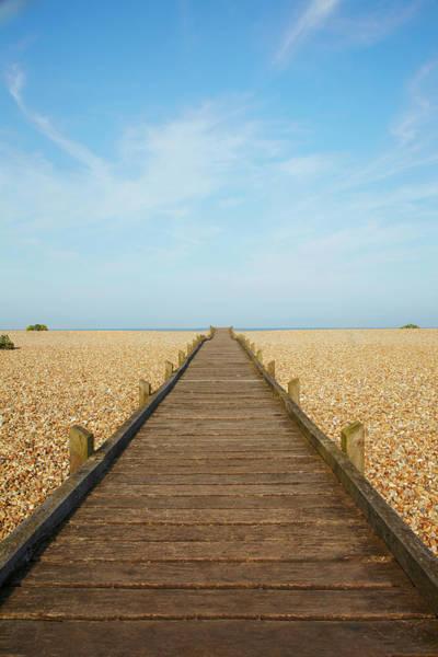 Straight Photograph - Beach Path by Ben Richardson