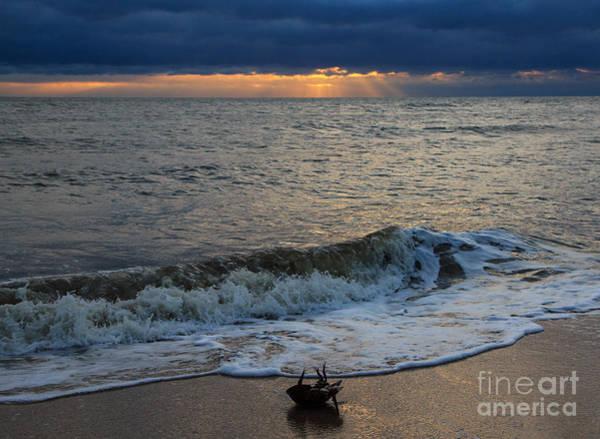 Lewes Photograph - Beach Plum Island Sunrise by Robert Pilkington