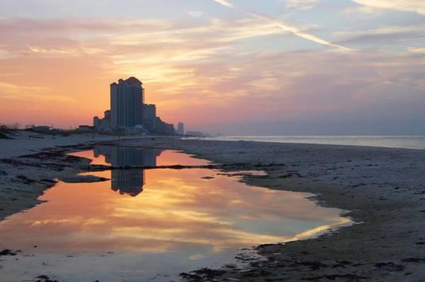 Digital Art - Beach Reflections by Michael Thomas