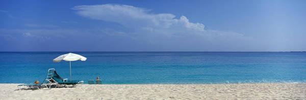 Leisurely Photograph - Beach Scene, Nassau, Bahamas by Panoramic Images