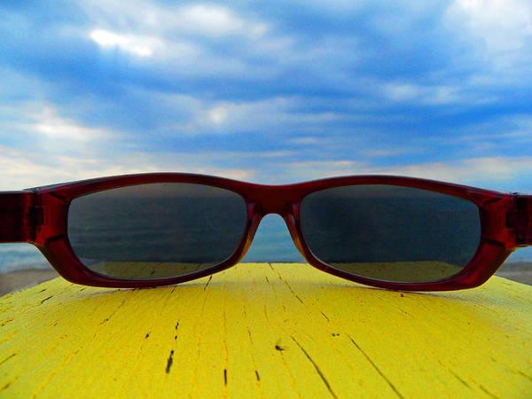 Photograph - Beach Shades by Cyryn Fyrcyd