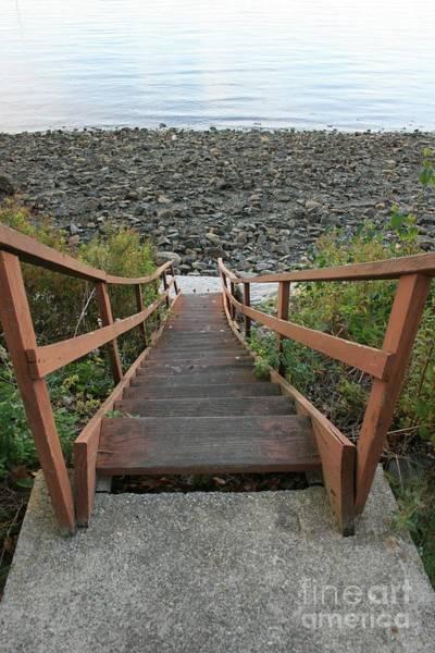 Wall Art - Photograph - Beach Stairs by Lori Amway