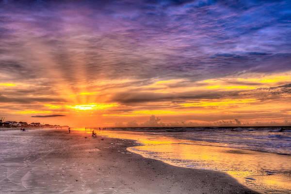 Photograph - Beach Sunrise by Keith Allen