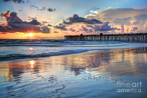 Wall Art - Photograph - Beach Sunrise by Rick Mann