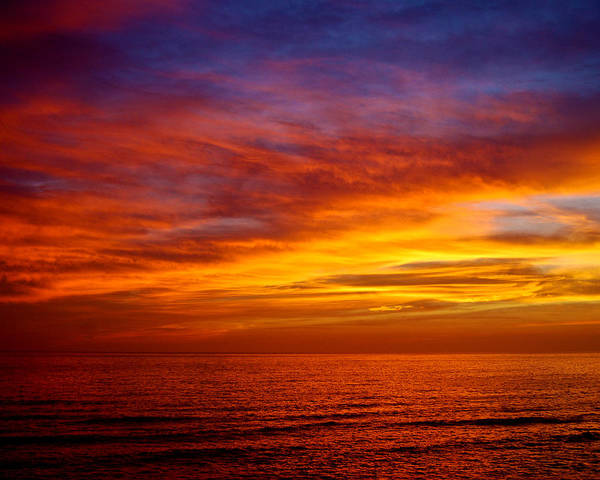 Photograph - Beach Sunset by Larah McElroy