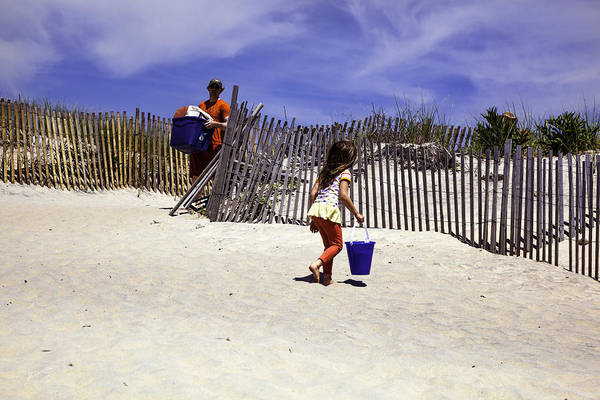 Wall Art - Photograph - Beach Time Memories  by Madeline Ellis