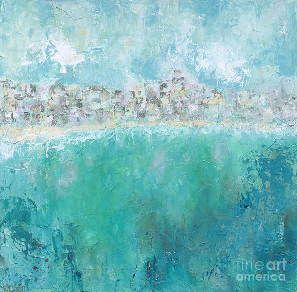 Wall Art - Painting - Beach Town by Kirsten Reed