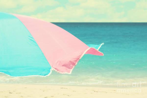 Wall Art - Photograph - Beach Umbrella by Sylvia Cook