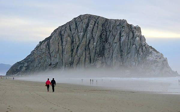 Photograph - Beach Walk by AJ  Schibig