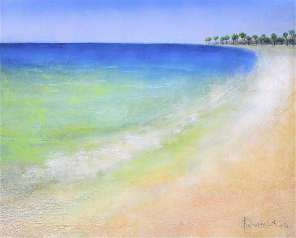 Painting - Beach Walk by Kaata    Mrachek