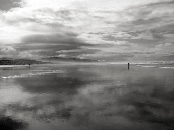 Photograph - Beach Walk Neahkanie by Lora Fisher