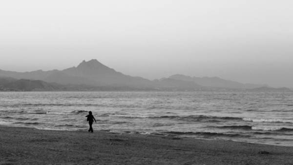 Photograph - Beach Walker by Pedro Fernandez