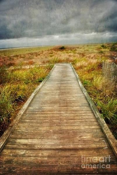 Photograph - Beach Walkway by Debra Fedchin