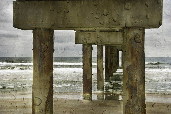 Photograph - Beach Weather by Judy Hall-Folde