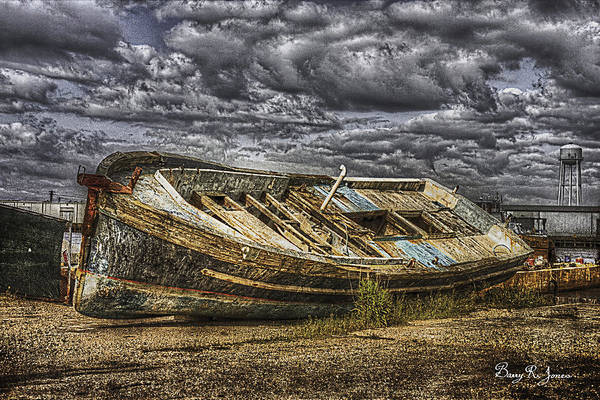 Photograph - Beached by Barry Jones