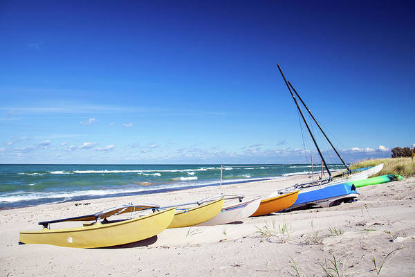 Lakeshore Photograph - Beached Boats by Daniel A. Leifheit