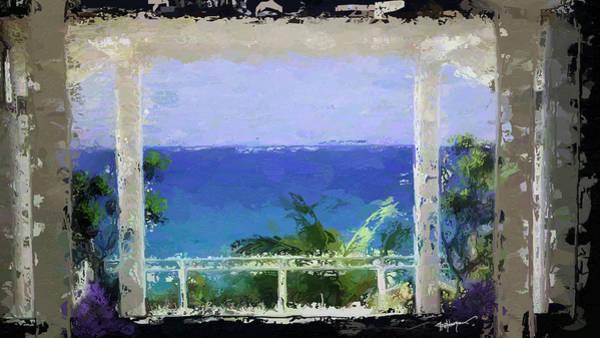 Wall Art - Digital Art - Beachfront Oasis by Anthony Fishburne
