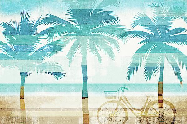 Wall Art - Painting - Beachscape Palms I by Michael Mullan