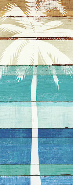 Wall Art - Painting - Beachscape Palms V by Michael Mullan