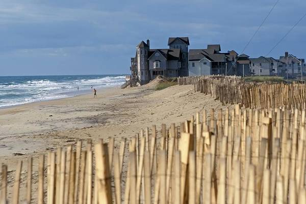 Us West Coast Photograph - Beachside Homes by Jim West