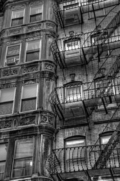 Photograph - Beacon Hill Brownstone Tenement - Boston by Joann Vitali
