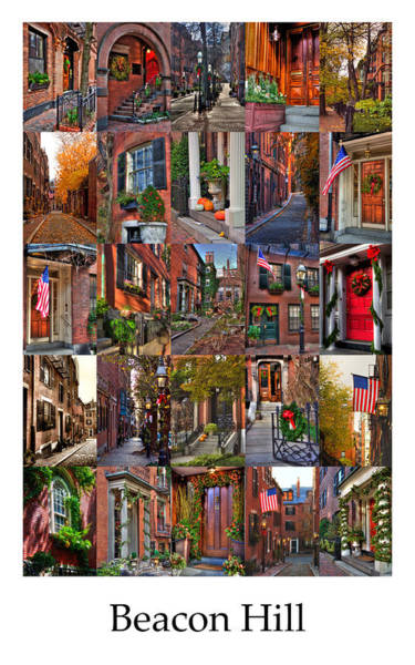 Photograph - Beacon Hill - Poster by Joann Vitali