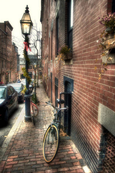 Photograph - Beacon Hill Winter by Joann Vitali