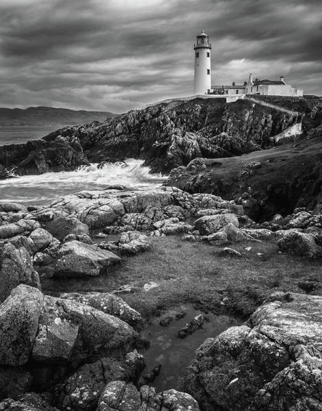 Cloudy Photograph - Beacon by Stevan Tontich