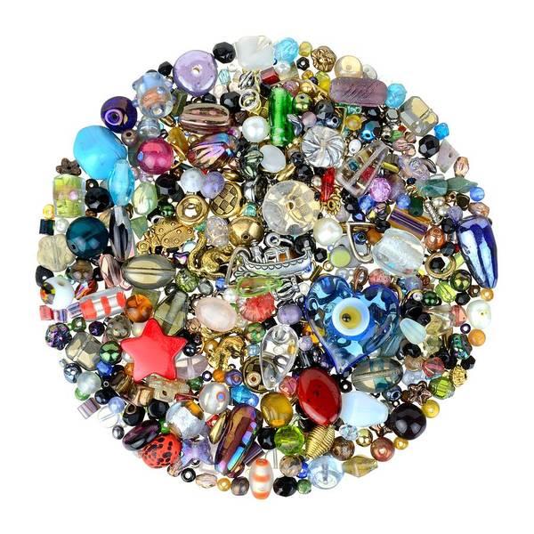 Beads And Charms Art Print
