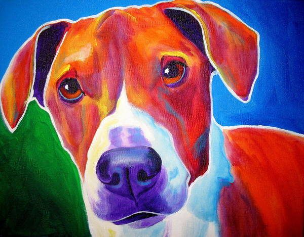 Wall Art - Painting - Beagle - Copper by Alicia VanNoy Call