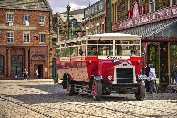 Wall Art - Photograph - Beamish Bus  by Rob Hawkins