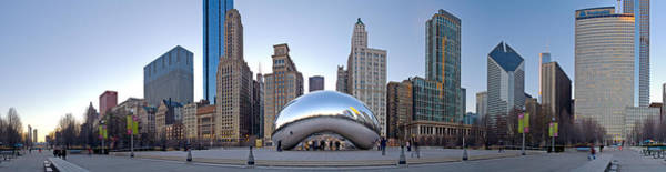 Millenium Photograph - Bean 180 Pano by Kevin Eatinger