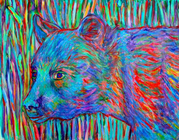 Painting - Bear Beauty by Kendall Kessler