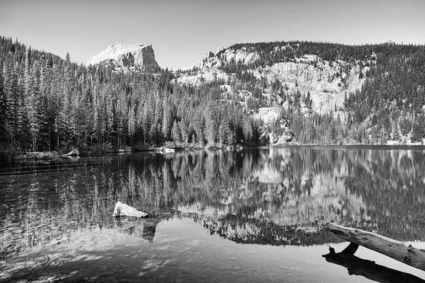Photograph - Bear Lake - Black And White by Harold Rau