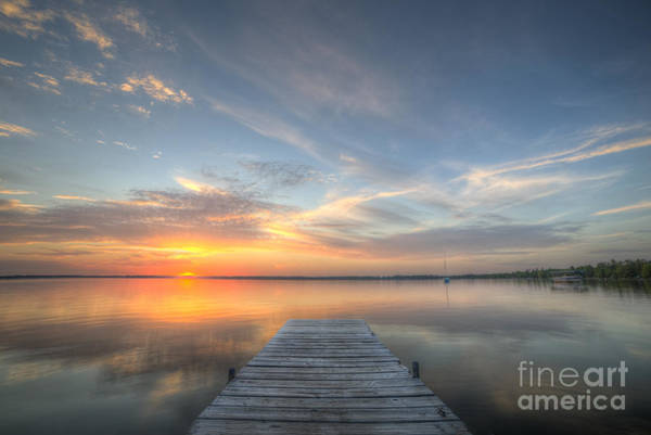 Manistee Photograph - Bear Lake Sunset by Twenty Two North Photography