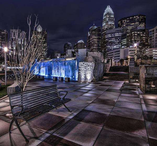Charlotte Wall Art - Photograph - Bearden Bench by Chris Austin