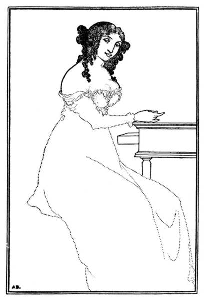 Drawing - Beardsley Bargains by Granger