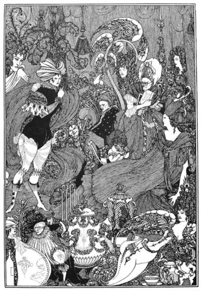 Photograph - Beardsley: Rape Of Lock by Granger