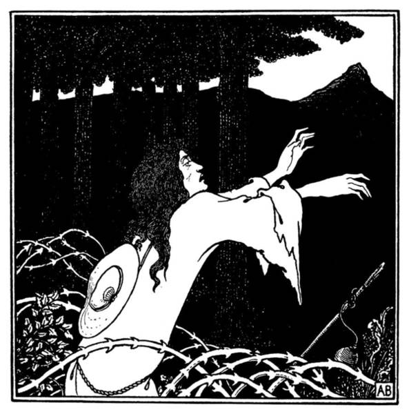 Drawing - Beardsley Under The Hill by Granger